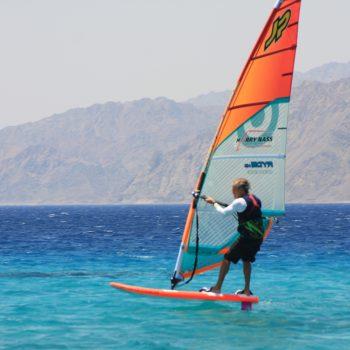 Foil Windsurfing Dahab