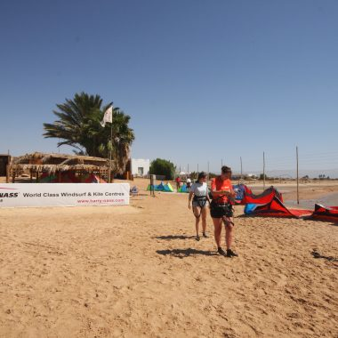 Harry Nass Dahab private Kite Rigging Area