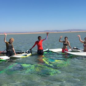 Windsurfcourses at Harry Nass Dahab